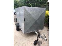 "7ft 6"" x 4ft factory built Box trailer"