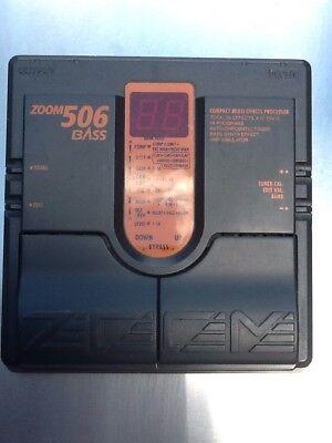 Usado, Multi Effet ZOOM Bass 506 comprar usado  Enviando para Brazil