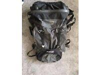 Berghaus backpack 70+10 litre