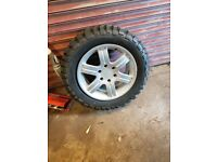 Mitsubishi l200 alloy and tyres