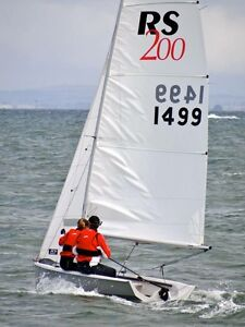 RS 200 Sailing Dinghy - excellent condition Black Rock Bayside Area Preview