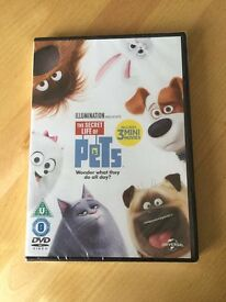 Brand New secret Life Of Pets DVD