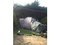 Wynnster brecon excel 6 or 8 man tent