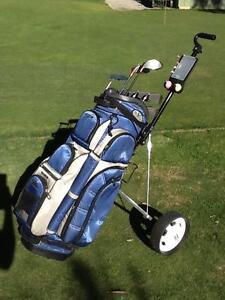 Golf Clubs RH ladies + bag & buggy Great Condition Bundoora Banyule Area Preview