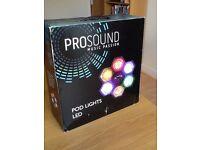 Disco lights - Pro Sound LED pod disco lights