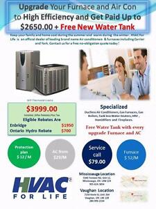 York Gas Furnace & AC $ 3,999 After Rebate