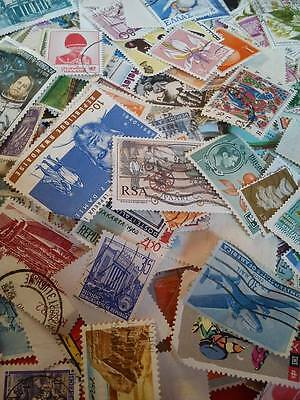 100 Postage Stamps - Different Various Countries - Mixed Condition Collectors