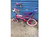 Girls Raleigh Funky Diva chopper style bike