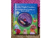 In the night Garden book and Cd with Songs and Rhytmes.