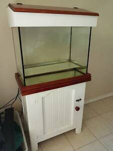 2ft fish tank in cabinet with hood Windella Maitland Area Preview