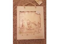 Winnie the Pooh organic sheet for cot/cotbed