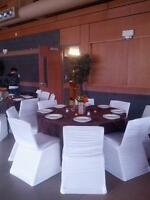 Chair Covers and Tablecloths for Rent