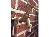 Summer offer outside taps £60.00 fitted