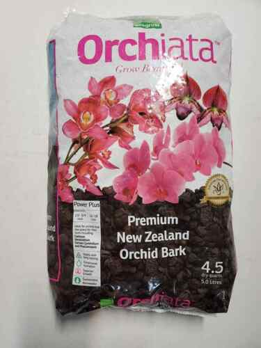 "Besgrow Orchiata Orchid Bark - Power Plus. 1/2""-3/4"" (12-18 mm) 5 Liter Bag"