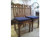 Solid wood dinning Chair.