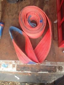 Three Heavy Duty 6 Meter towing straps for sale