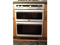 Creda gas integrated double oven and grill
