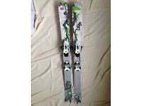 VOLKL Aura Skis with Marker Griffon bindings