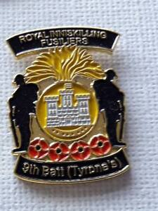 9th Batt RIF WW1 Pin Badge Unionist Loyalist UVF 36 Ulster Division Somme