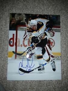 BOSTON BRUINS AUTOGRAPHED PHOTOS AND PUCKS Edmonton Edmonton Area image 8