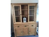 Solid oak dresser