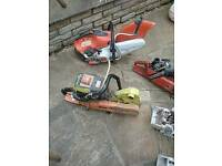 Job lot of disc cutters for sale Stihl and husquvana £250 ono