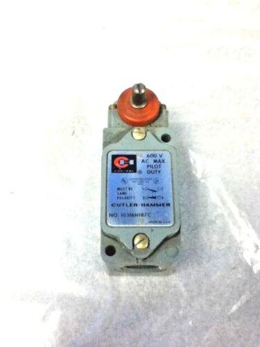 CUTLER HAMMER  LIMIT SWITCH 10316H187C - NO BOX