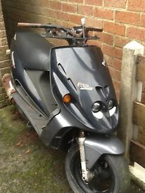Malaguti scooter Phantom F12 100cc for spares. **SOLD **