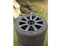 Vw alloy wheels golf,bora,beetle seat leon