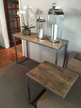 NEW HARDWOOD INDUSTRIAL CHIC CONSOLE HALL SOFA COFFEE TABLES FROM $299 Casuarina Kwinana Area Preview