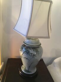 Beautiful ginger jar lamp