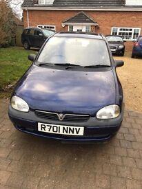 Vauxhall Corsa 1.4 GLS 1998 petrol 5 door hatchback