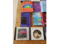 Assortment of therapy/relaxation/spiritual items