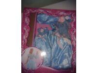 Cinderella style Dress +matching Barbie Dress 2-5years