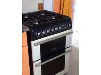 Cannon electric oven with LPG gas hob
