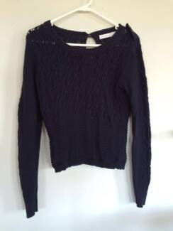 Quirky Circus navy long-sleeve knit Auchenflower Brisbane North West Preview