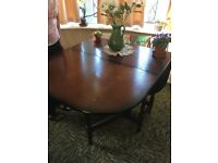 Dining room table in need of a little TLC
