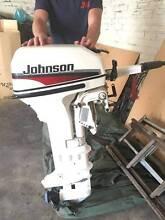 15 HP JOHNSON OUTBOARD MOTOR LONG SHAFT 2 STROKE Adelaide CBD Adelaide City Preview