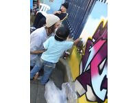 **Professional Graffiti Mural Artist**