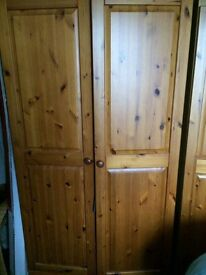 Double pine wardrobe and triple Pine Wardrobe Hebburn can deliver