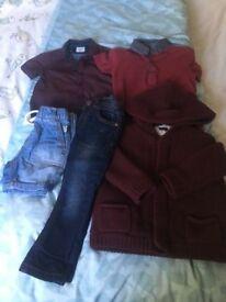 Boys clothing bundle 18-24 including Next