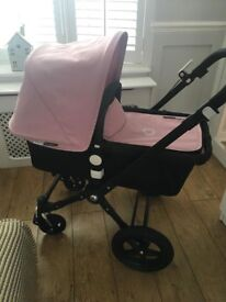 bugaboo cameleon pram with limited edition andy warhol hood