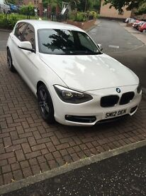 Perfect condition bmw 1 series 116 sport , working and driving absolute fine . Full mot and service.