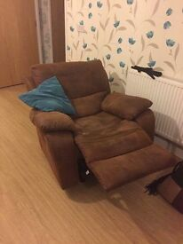 3 seater sofa & armchair