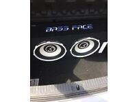 "Bassface POWER12.2 2600w Twin 12"" Active Car Sub Amp Amplifier Powered Bass Box"