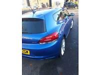 Blue Scirocco GT