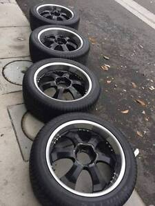 "22"" Wheels with Tyres Maribyrnong Maribyrnong Area Preview"