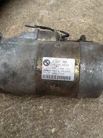 Bmw e46 330d starter motor