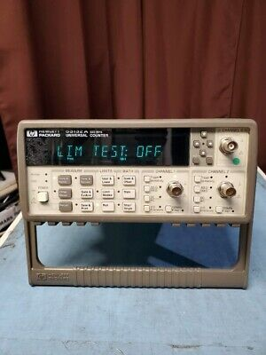 Hp Agilent 53132a 225mhz Universal Counter