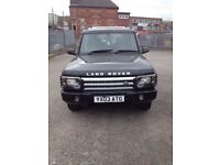 Land Rover discovery td5 Es model